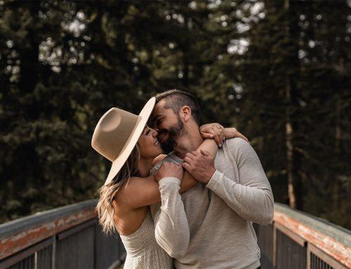 Edmonton Engagement Shoot | Becky + Anthony